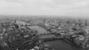 The View from The Shard London : Pictures from level 68 and 72, taken on a cloudy day in April.